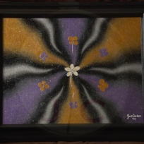 Lucky Vikings Colors (metallic)_14X17 w:frame_$100